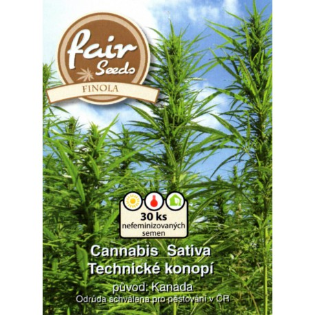 Canabis Sativa Finola: Technické konopí